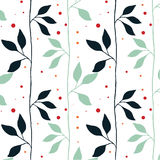 Colorful Vector Floral Pattern Stock Photos