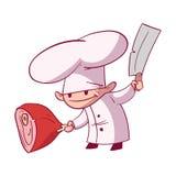 Cartoon chef illustration Royalty Free Stock Images