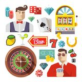 Colorful vector illustration concept. Quality flat Royalty Free Stock Photos