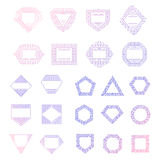 Colorful vector logo templates set Stock Images