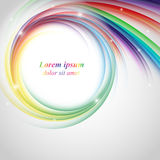 Colorful vector rainbow backdrop Royalty Free Stock Photo