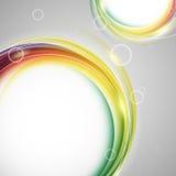 Colorful vector rainbow backdrop Royalty Free Stock Photo