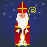 Colorful vector saint Nicolas character holiday Royalty Free Stock Photo
