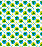 Colorful vector seamless pattern with circles Stock Photo