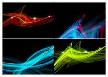 Colorful vector set Royalty Free Stock Photography