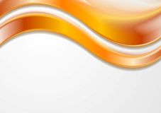 Colorful vector wavy background Stock Image
