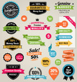 Colorful Vector Web Elements Royalty Free Stock Photography