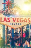 Colorful Vegas Royalty Free Stock Image