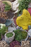 Colorful Vegetable Market Stock Images