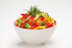 Colorful vegetable salad Royalty Free Stock Image