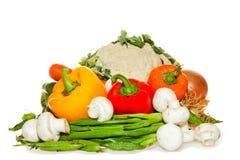 Colorful Vegetables arrangement Stock Photography
