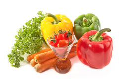 Colorful vegetables ,food ingredient Stock Photography