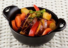 Colorful Vegetables Ragout Stock Images