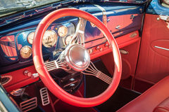 Colorful vehicle interior Stock Photos