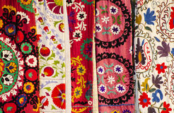 Colorful veils Royalty Free Stock Image