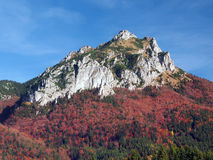 Colorful Velky Rozsutec peak Royalty Free Stock Images