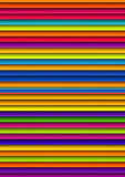 Colorful venetian blinds Royalty Free Stock Images