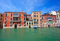 Colorful venetian houses Stock Photography