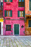 Colorful Venetian Houses Stock Images