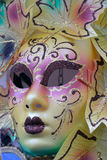 Colorful Venetian Mask Stock Image