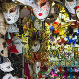 Colorful Venetian mask Stock Photography
