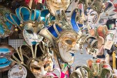 Colorful Venetian mask Stock Photos