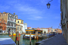 Colorful Venice view Royalty Free Stock Photo