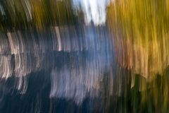 Colorful vertical abstract. Abstract vertical streaks of green yellow blue and white Royalty Free Stock Photography