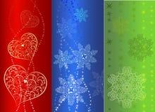 Colorful  vertical banner design Stock Photos