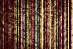 Colorful vertical stripes background in vintage, retro style. Stock Image