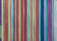Colorful vertical stripes Stock Image