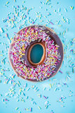 Colorful vibrant donut Stock Photos
