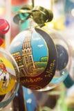 Colorful Vienna souvenir Balls Stock Images