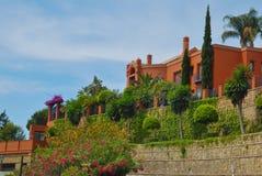 Colorful villa Stock Photo