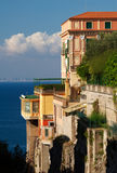 Colorful Villa, Sorrento, Italy Royalty Free Stock Photos