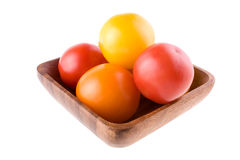 Colorful vine tomatoes Royalty Free Stock Photo