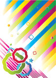 Colorful vintage background Stock Photo