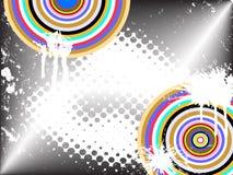 Colorful vintage background Stock Image