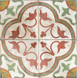 Colorful vintage ceramic tiles. Royalty Free Stock Image
