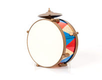 Colorful vintage drum Royalty Free Stock Photo