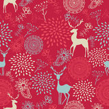 Colorful vintage elements seamless pattern backgro Royalty Free Stock Photo