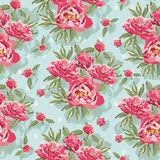 Colorful vintage pattern with floral ornament Stock Photos