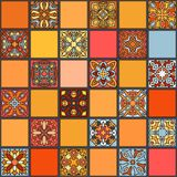 Seamless pattern. Vintage decorative elements. Hand drawn background. Islam, Arabic, Indian, ottoman motifs. Perfect for printing. Colorful vintage seamless Stock Photography