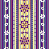 Seamless striped vintage pattern Royalty Free Stock Photo