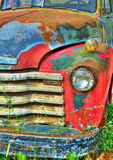 Colorful Vintage Truck stock image