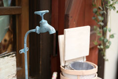 Colorful vintage water tap Royalty Free Stock Photo
