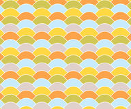 Colorful Vintage Wave Pattern Stock Photos