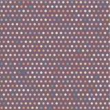Colorful violet geometric pattern with dots Stock Photos