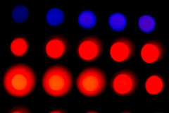 Colorful and vivid stage spotlight background Royalty Free Stock Photo