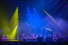 Colorful and vivid stage spotlight Royalty Free Stock Images